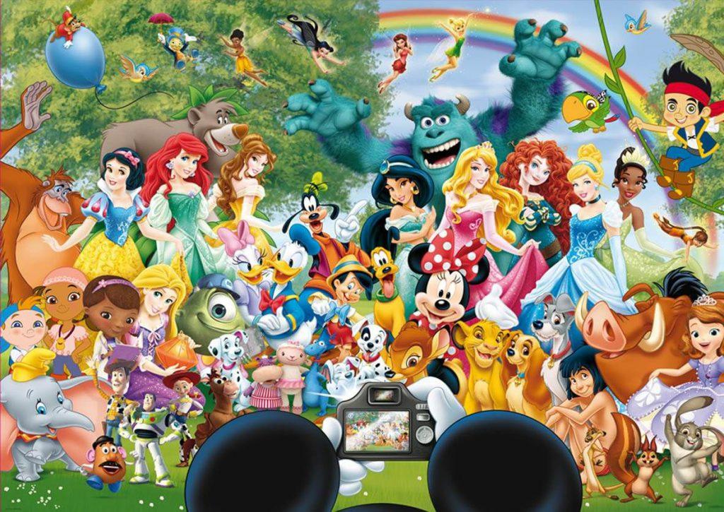 история  Walt Disney