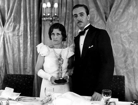 Уолт и его жена Лилиан